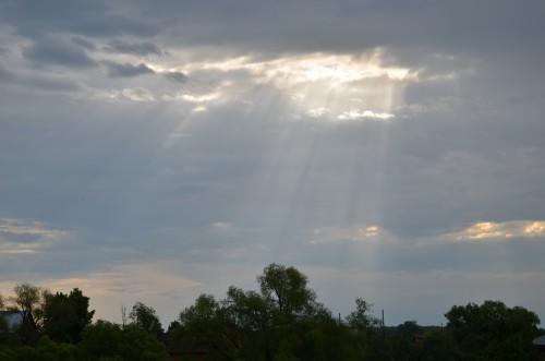 Лучи солнца